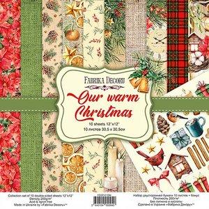 """Pad Fabrika Decoru 12x12"""" Our Warn Christmas"""