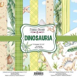 """Pad Fabrika Decoru 12x12"""" Dinosauria"""