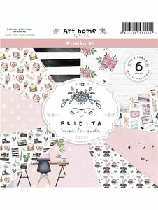 "Pad de papeles 12x12"" Fridita Art Home"