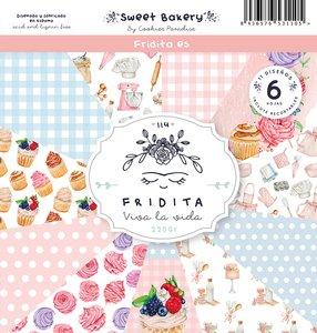 "Pad de papeles 12x12"" Fridita Sweet Bakery"
