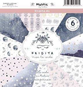 """Pad de papeles 12x12"""" Fridita Mystic"""
