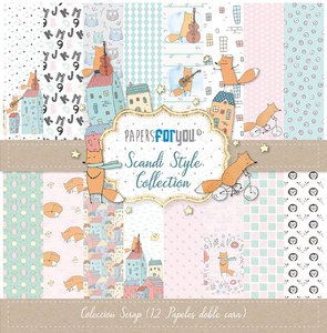 "Pad 12x12"" Papers For You Scandi Style Collection"