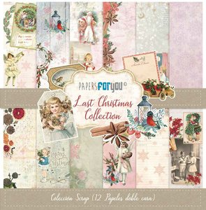 "Pad 12x12"" Papers For You Last Christmas"