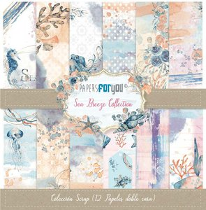 """Pad 12x12"""" Papers For You Sea Breeze"""