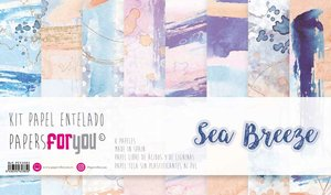 """Pad 12x12"""" Papel Tela Papers For You Sea Breeze"""