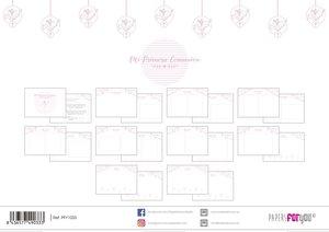 Páginas interiores para álbum Comunión Niña 20 hojas