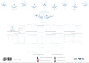 Páginas interiores para álbum Comunión Niño 20 hojas