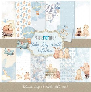 """Pad 12x12"""" Papers For You Baby Boy World 8 pcs"""