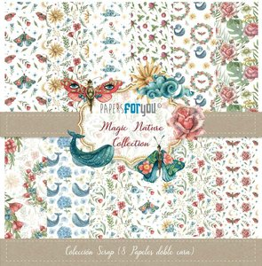 """Pad 12x12"""" Papers For You Magic Nature 8 papeles"""