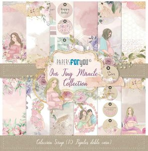 """Pad 12x12"""" Papers For You Our Tiny Miracle 10 papeles"""