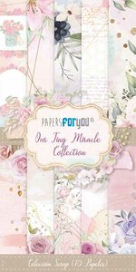 """Pad 6x12"""" Papers For You Our Tiny Miracle 10 papeles"""