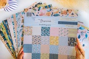 """Stack 12""""x12"""" Jasmine de Gigis Lab"""
