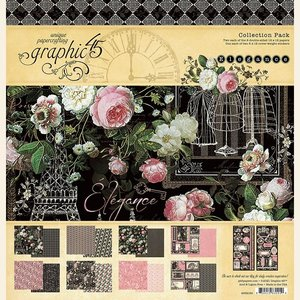 Kit Graphic 45 Elegance Collection Pack