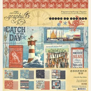 """Stack 8x8"""" Graphic 45 Catch of the Day"""