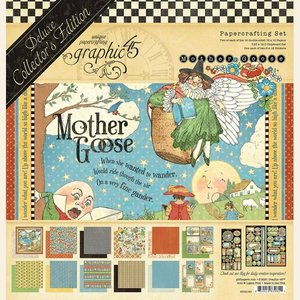 Kit Graphic 45 Mother Goose DeLuxe Collectors Edition