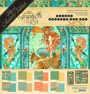 Kit Graphic 45 Voyage Beneath the Sea DeLuxe Collectors Edition