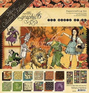 Kit Graphic 45 Magic of Oz DeLuxe Collectors Edition