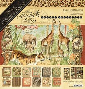 Kit Graphic 45 Safari Adventure DeLuxe Collectors Edition