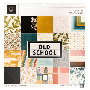 "Stack 12x12"" Old School de Heidi Swapp"