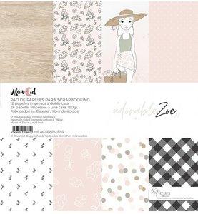 """Stack 12""""x12"""" Adorable Zoe 2.0 de Alúa Cid"""