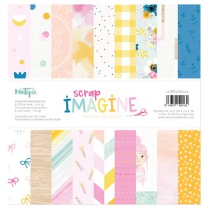 "Stack papeles 12""x12"" Imagine"