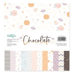 "Stack 12""x12"" Chocolate de Mintopía"