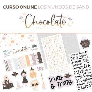 Kit CHOCOLATE con curso EXCLUSIVO EN MI CRAFTROOM Los mundos de Sand