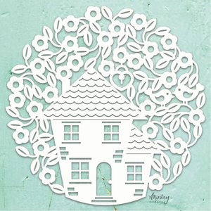 """Chipboard XL 12x12"""" Mintay Chippies Decor Tree House"""