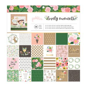 """Stack 12""""x12"""" Lovely Moments con foil"""