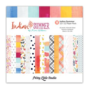 "Pretty Little Studio Pack Indian Summer 12x12"""