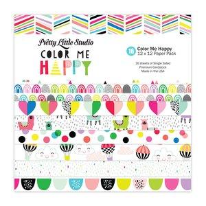"Pretty Little Studio Pack Color Me Happy 12x12"""