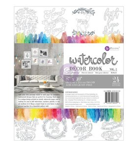 Libro para colorear en acuarela Decor Vol 2