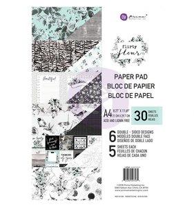 Flirty Fleur Pad papel A4