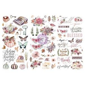 "Rubons 6x12"" 3 hojas col. Hello Pink Autumn de Prima"