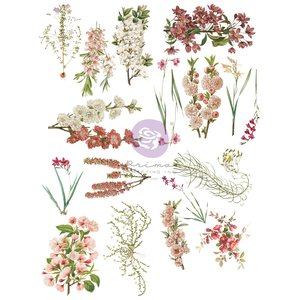 Decor Transfer Bloom col. Hello Pink Autumn by Sharon Ziv