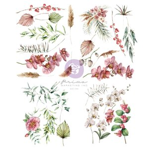 Decor Transfer Orchidea col. Hello Pink Autumn by Sharon Ziv