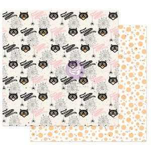"""Papel 12x12"""" col. Thirty One de Prima Cute & Scary"""
