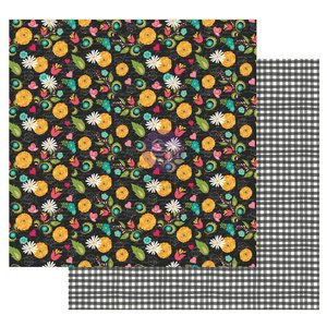 """Papel 12x12"""" col. Solecito de Prima by Julie Nutting Sweet Floral"""