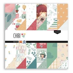 "Stack 12x12"" colección Chibi de Paraes"