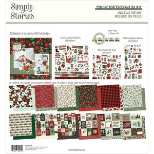 Kit Simple Stories Collectors Essential Jingle All The Way