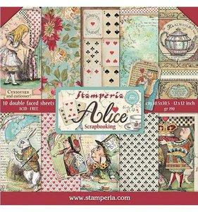 """Pad 12x12"""" Stampería Alice"""