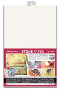Hoja de papel Especial A4 Stamperia Stone Paper