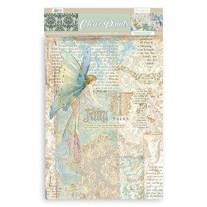 Pad acetatos estampados A4 Stampería Sleeping Beauty 6 pcs
