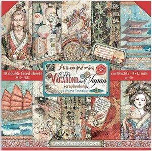 """Pad 12x12"""" Stampería Sir Vagabond in Japan"""