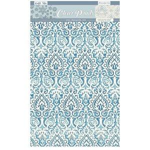 Pad acetatos estampados A4 Stampería Winter Tales