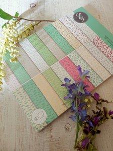 Papeles estampados A4 Sizzix Surfacez Botanical 60 pcs