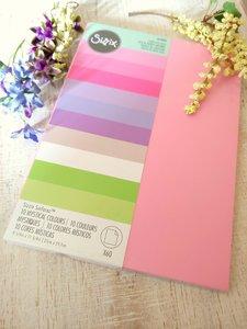 Cartulinas Sizzix Surfacez Mystical 10 colores 60 pcs