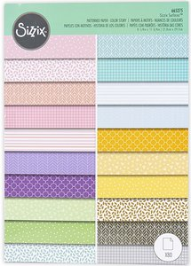 Stack A4 Sizzix Surfacez Color Story 80 hojas