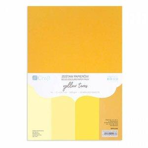 Pad DP Craft 20 cartulinas A4 Yellow Tones