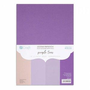 Pad DP Craft 20 cartulinas A4 Purple Tones
